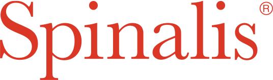 Spinalis logga som leder till deras webbplats