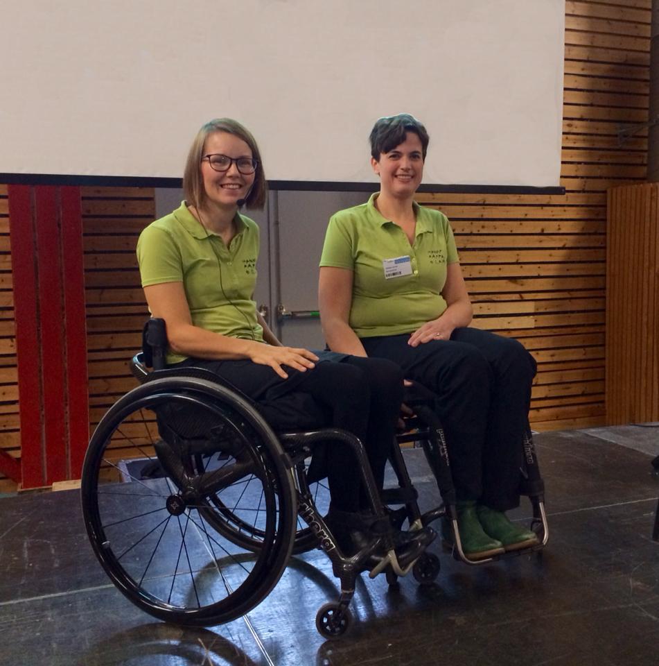 Erika Nilsson och Nora Sandholdt